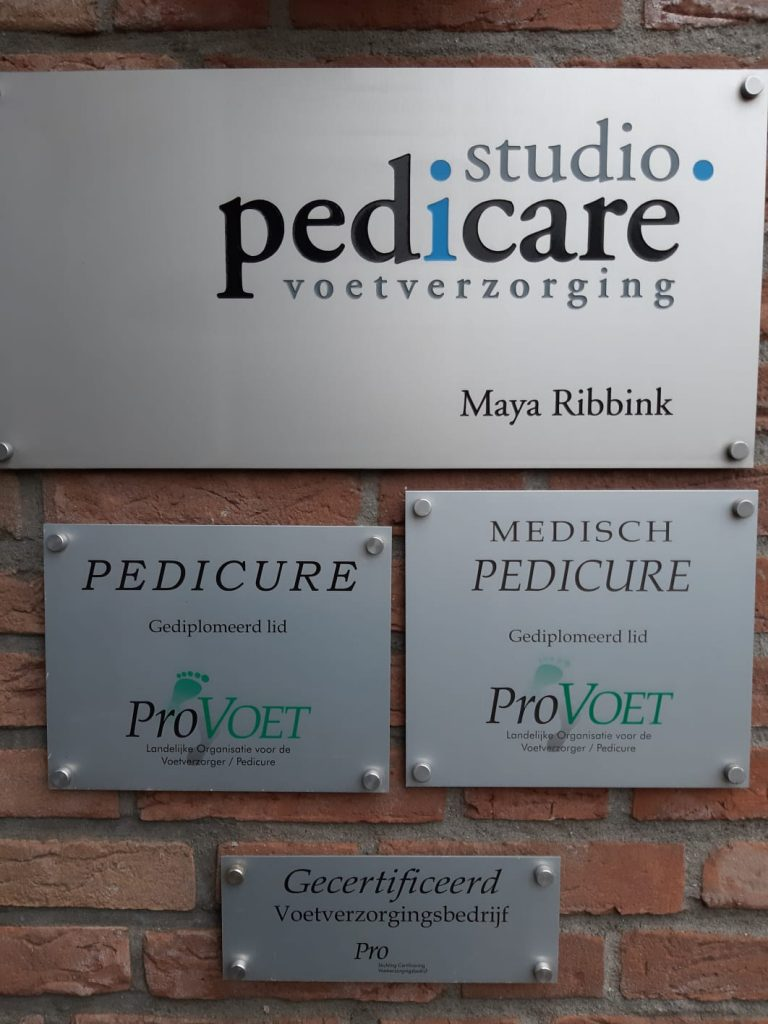 Studio Pedicare certificaten